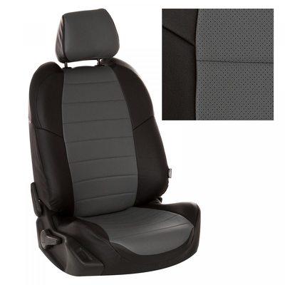 Комплект чехлов из экокожи для Nissan Terrano (2014-) (Автопилот)