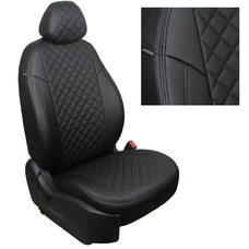 Комплект чехлов из экокожи РОМБ для УАЗ 3909 Пассажирский (Автопилот)