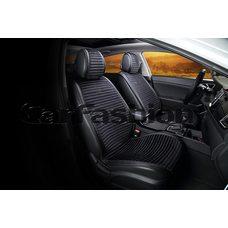 Автомобильные накидки на передние сиденья из велюра Monaco Premium