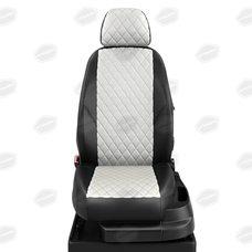 Комплект авточехлов из экокожи РОМБ для Vortex Estina 1 с 2008-2012 седан (Автолидер)