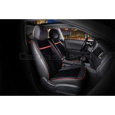 3D Каркасные автомобильные накидки на передние сиденья из велюра Barcelona Premium