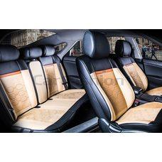 3D Комплект каркасных автомобильных накидок из велюра Evolution Plus Premium